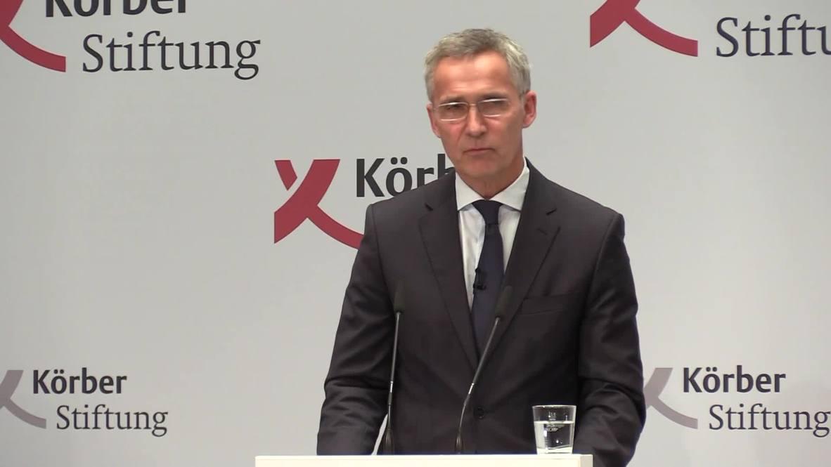 Germany: Stoltenberg calls Berlin 'highly valued NATO ally'