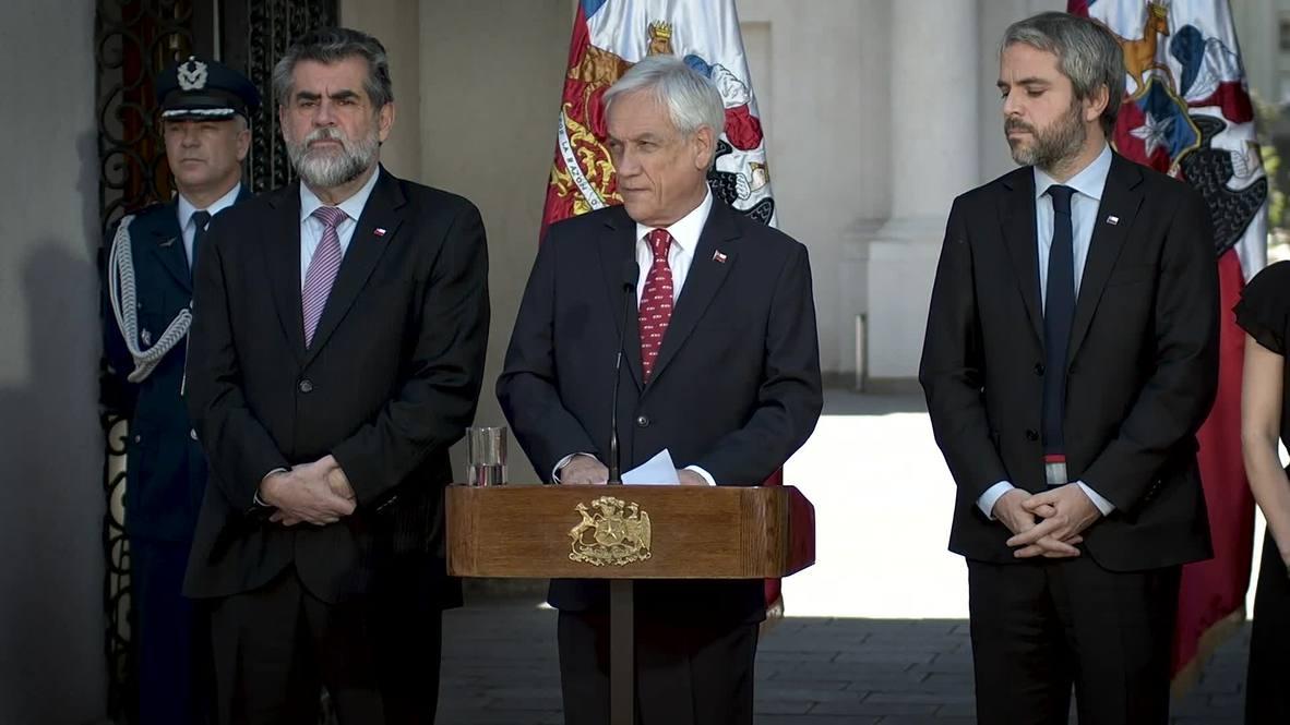 Chile: Piñera anuncia un proyecto de ley contra los saqueos y los encapuchados