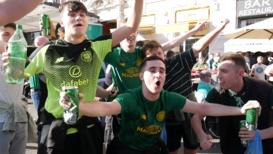 Italy: Police patrol streets as Celtic fans flood Rome ahead of Lazio clash