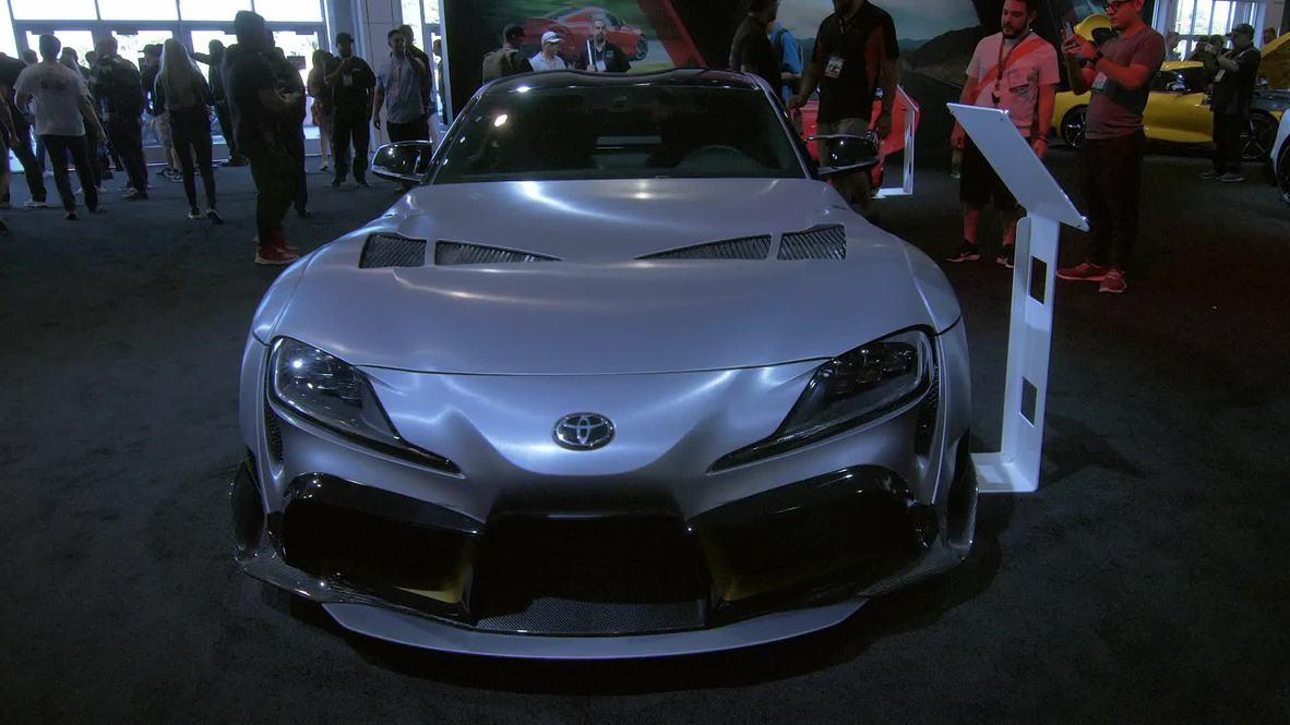 USA: Retro-inspired Toyota Supra 3000GT debuts at Las Vegas SEMA