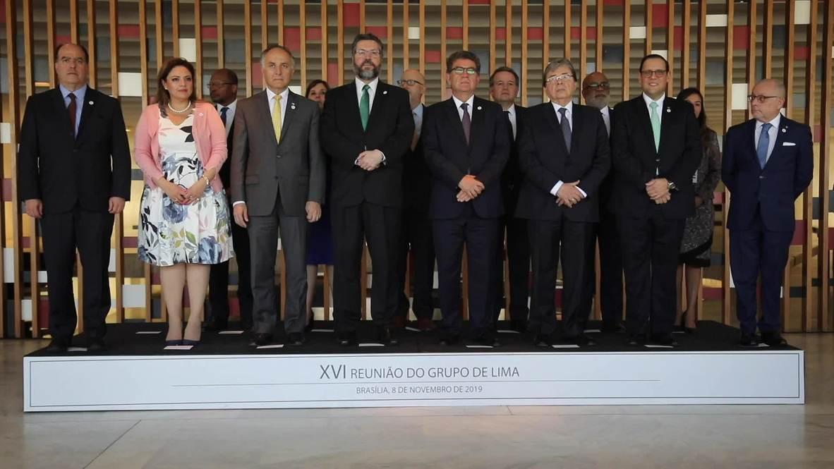 Brasil: El Grupo de Lima condena el ingreso de Venezuela en el Consejo de Derechos Humanos de la ONU