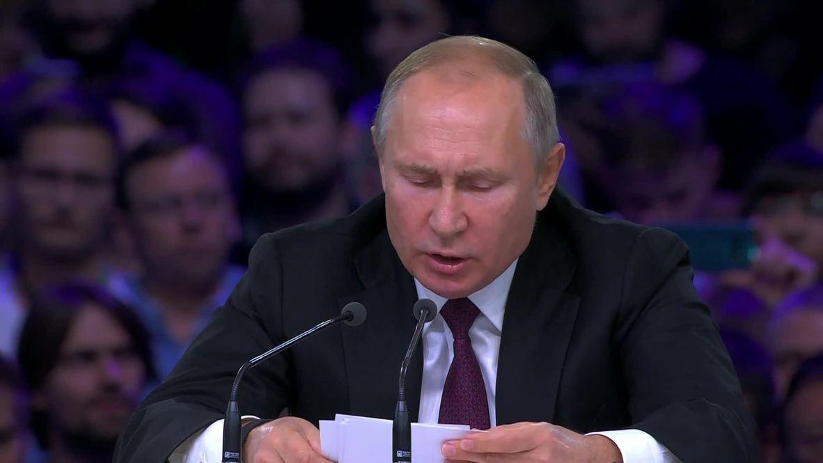 """Россия: """"Мы способны стать одним из глобальных лидеров в сфере искуственного интеллекта"""" – Путин"""