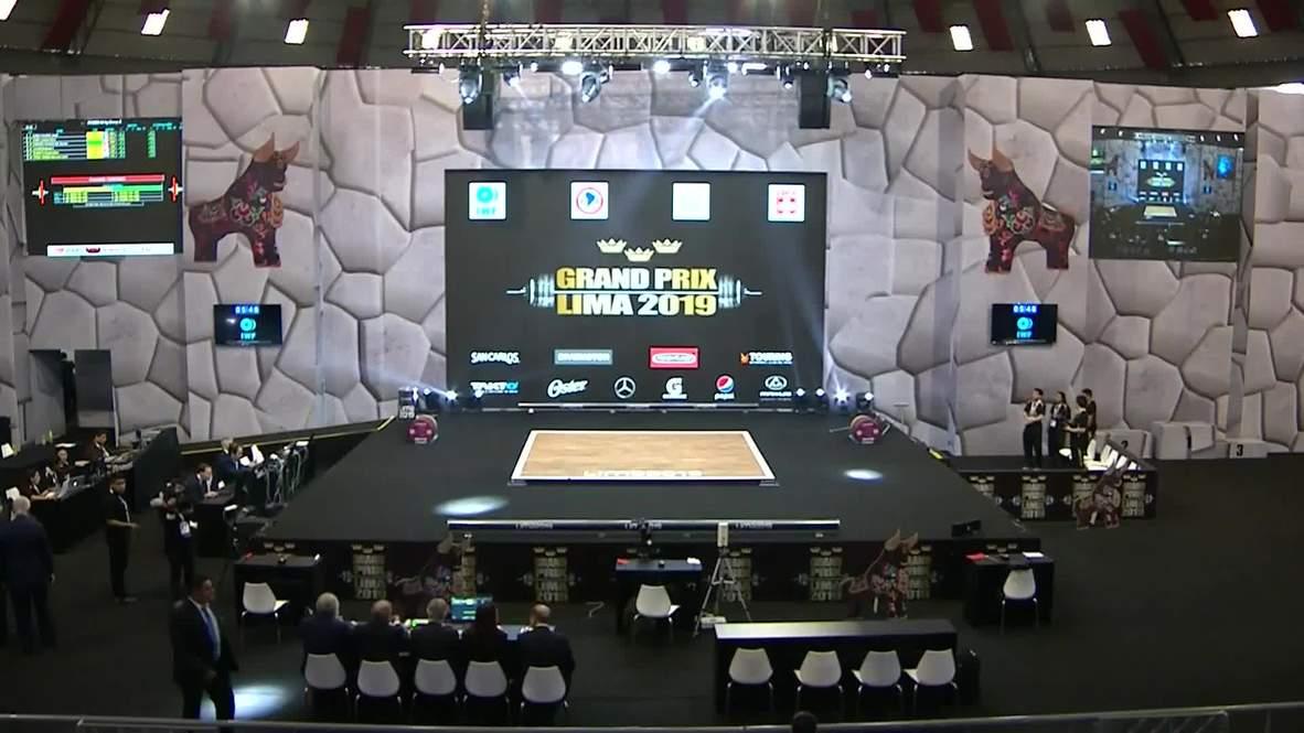 Perú: Continúa la competición de los mejores levantadores de pesas en Lima