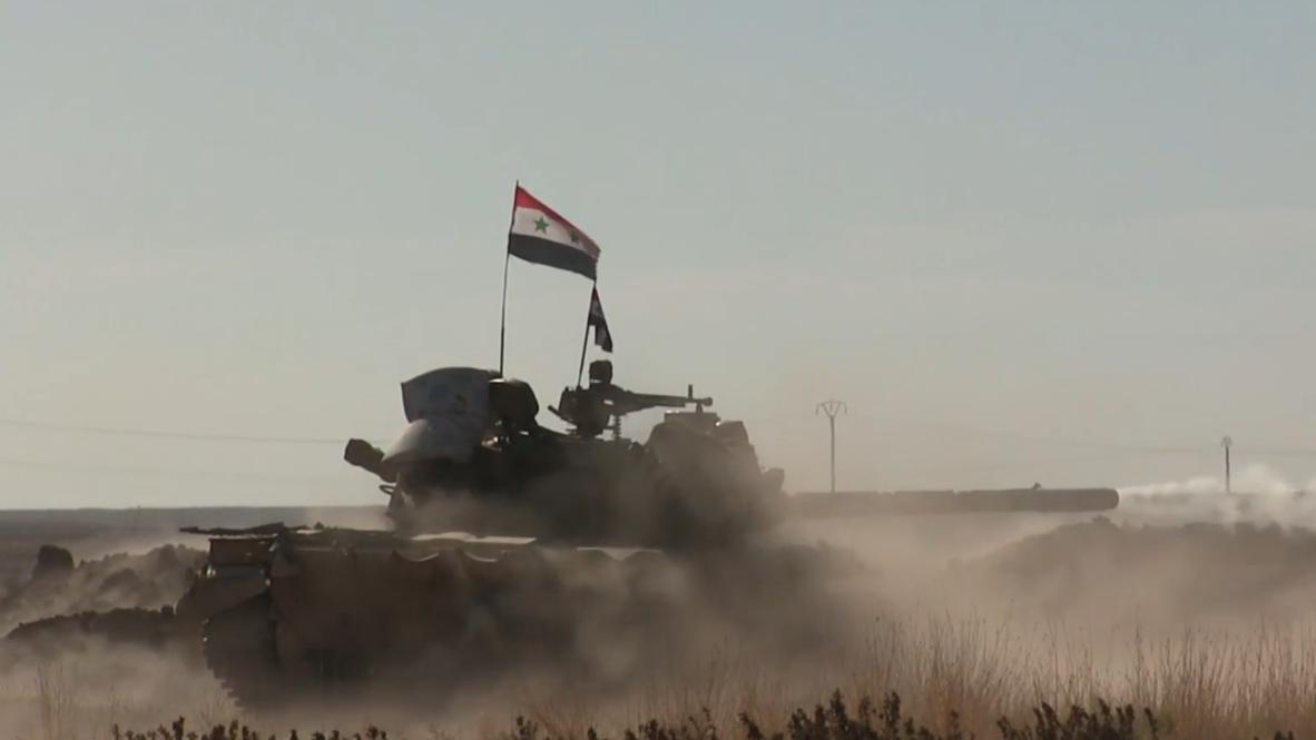 Siria: Enfrentamientos entre el SAA y las fuerzas dirigidas por Turquía continúan en  Al Hasakah