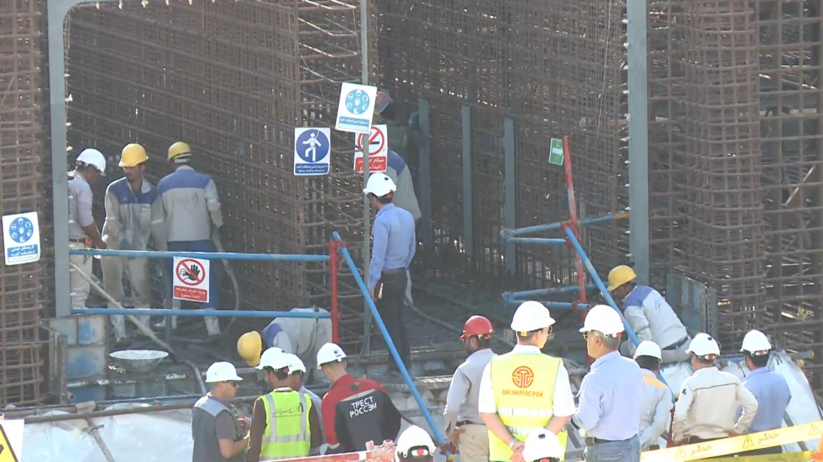 إيران: بدء أعمال تشييد مفاعل نووي ثاني بمحطة بوشهر