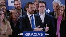 """España: """"Vamos a ser muy exigentes con el PSOE"""" - Casado, líder del PP"""