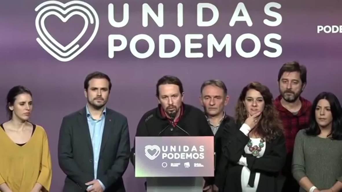 """España: """"Se duerme peor con más de 50 diputados de la extrema derecha"""" - Pablo Iglesias"""