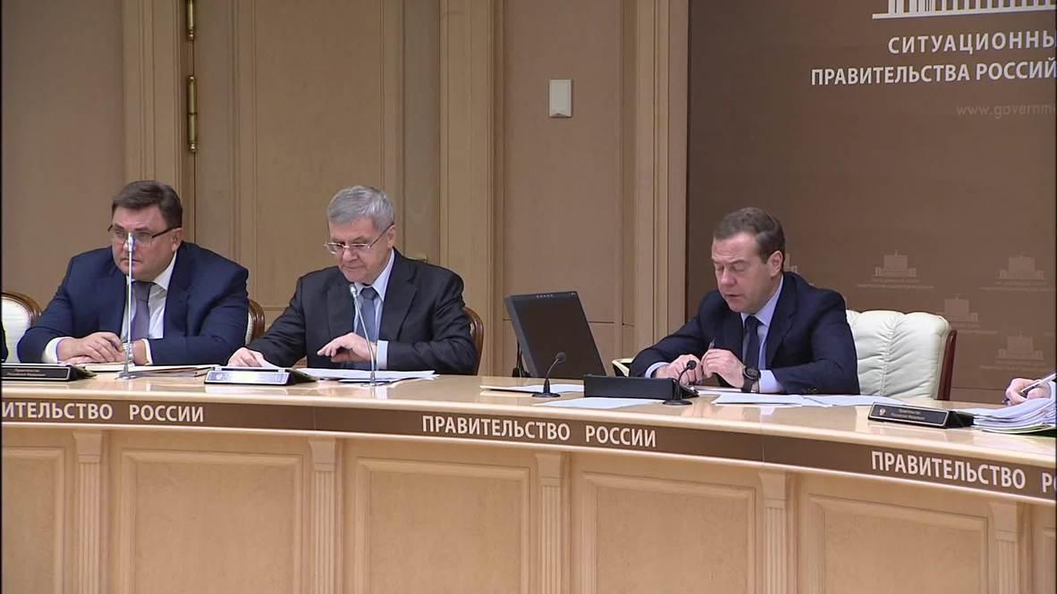 Россия: Медведев поддержал идею создания реестра юрлиц, совершивших коррупционные преступления