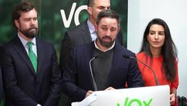 España: Líder del partido de extrema derecha Vox descarta una coalición con el PSOE