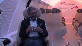 De Abu Dabi a Dubái en menos de 12 minutos: Virgin presenta una cápsula de transporte de alta velocidad