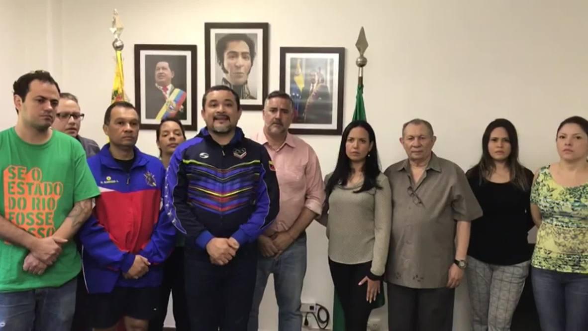 Brazil: Staff of 'besieged' Venezuelan embassy 'unequivocally' stand with Maduro