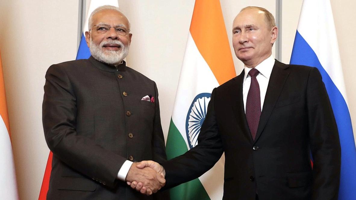 """Бразилия: """"Продолжаем тесную координацию на международной арене"""" – Путин встретился с Моди"""
