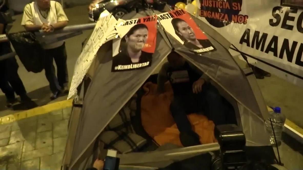 Perú: El marido de Keiko Fujimori se declara en huelga de hambre para pedir su libertad