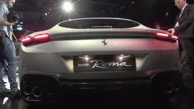 Italia: Ferrari rinde homenaje a la 'Dolce Vita' con su nuevo modelo Ferrari Roma