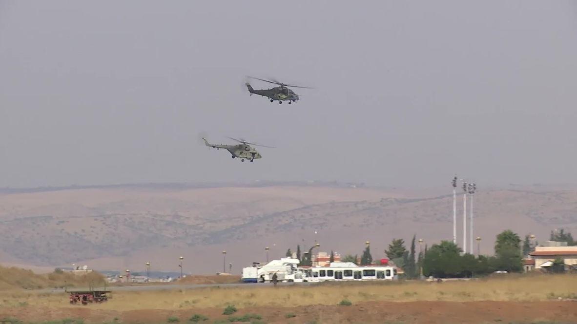 Сирия: Вертолеты российских ВКС перебазированы c авиабазы Хмеймим на север САР