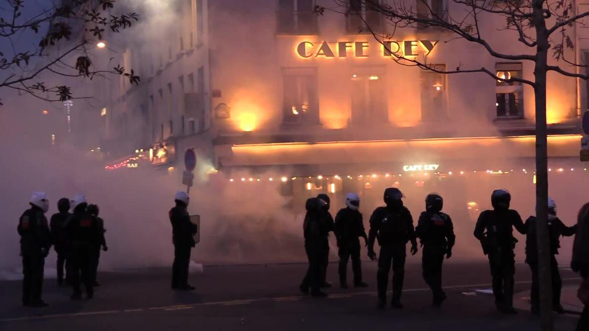 Francia: El primer aniversario de los 'chalecos amarillos' se convierte en caos