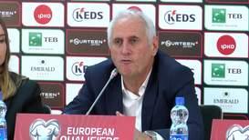 Serbia: England coach hails 'special' reception in Pristina