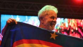 Brasil: Lula da Silva se dirige a sus partidarios en Recife tras su liberación de prisión