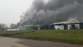 Россия: Пожар площадью 600 квадратных метров потушили в Москве