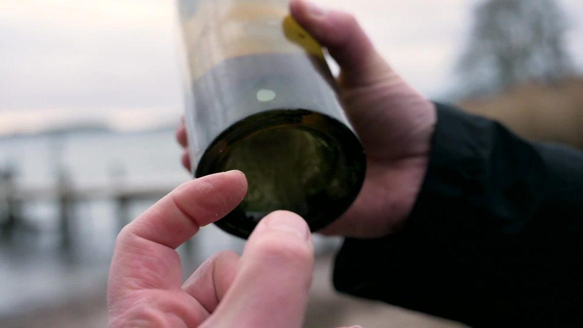 Suecia: Coñac y licor destinado a Rusia rescatado del naufragio de un navío de la Primera Guerra Mundial *CORRECCIÓN*