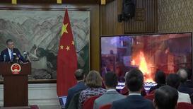 Reino Unido: Futuro de Hong Kong será 'inimaginable, terrible' si continúan las protestas - embajador chino