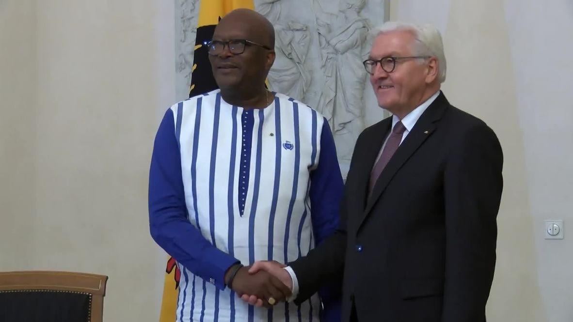 """ألمانيا: شتانيماير يرحب بزعماء دول إفريقية قبل انعقاد قمة """"مجموعة العشرين وأفريقيا"""""""
