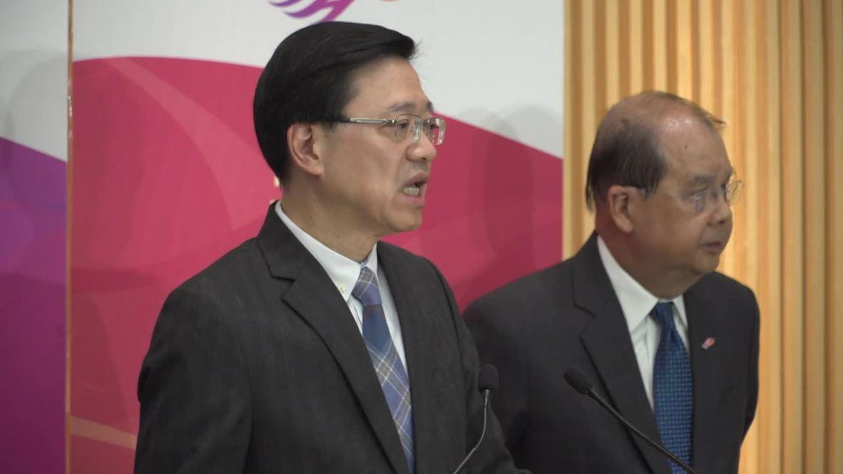 Hong Kong: Gobierno hace un llamamiento a los manifestantes para que se rindan