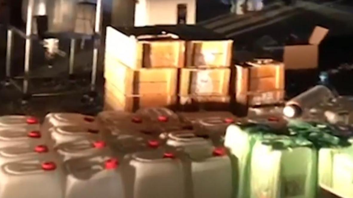 Россия: 1,5 тонны наркотиков в месяц. В Подмосковье раскрыта крупнейшая нарколаборатория