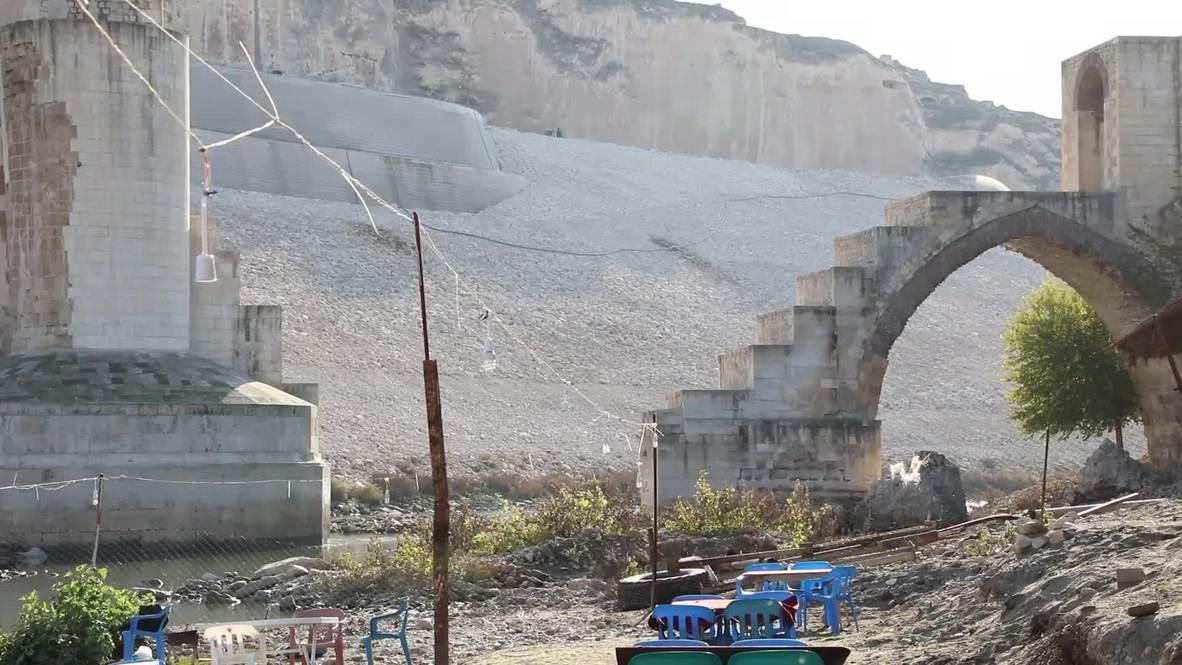 تركيا: سد إليسو يغرق بلدة أثرية عمرها 12 ألف عام ويرحل أهاليها