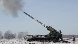 Россия: В Кузбассе испытали огневые возможности самоходных артиллерийских установок