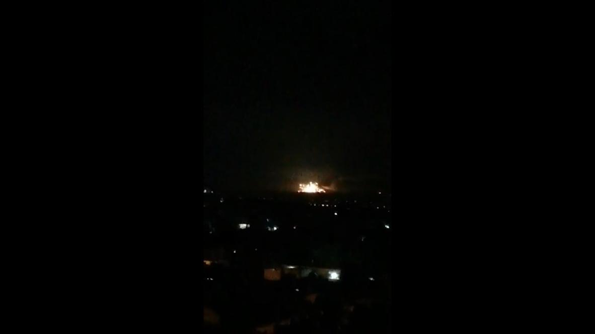 سوريا: الجيش الإسرائيلي: قصفنا أهدافا للقوات الإيرانية والسورية في دمشق