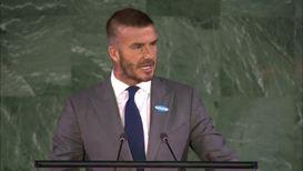 UN: David Beckham, Millie Bobby Brown demand action on World Children's Day