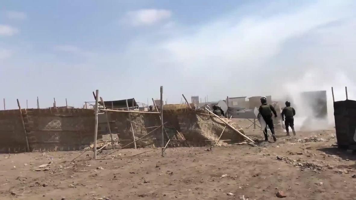 Perú: Pobladores son desalojados por la fuerza para construir planta de residuos