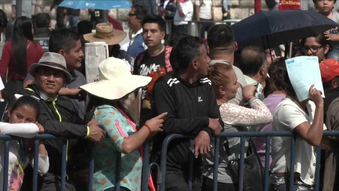 Mexico: Parade celebrates Mexican Revolution 109th anniversary