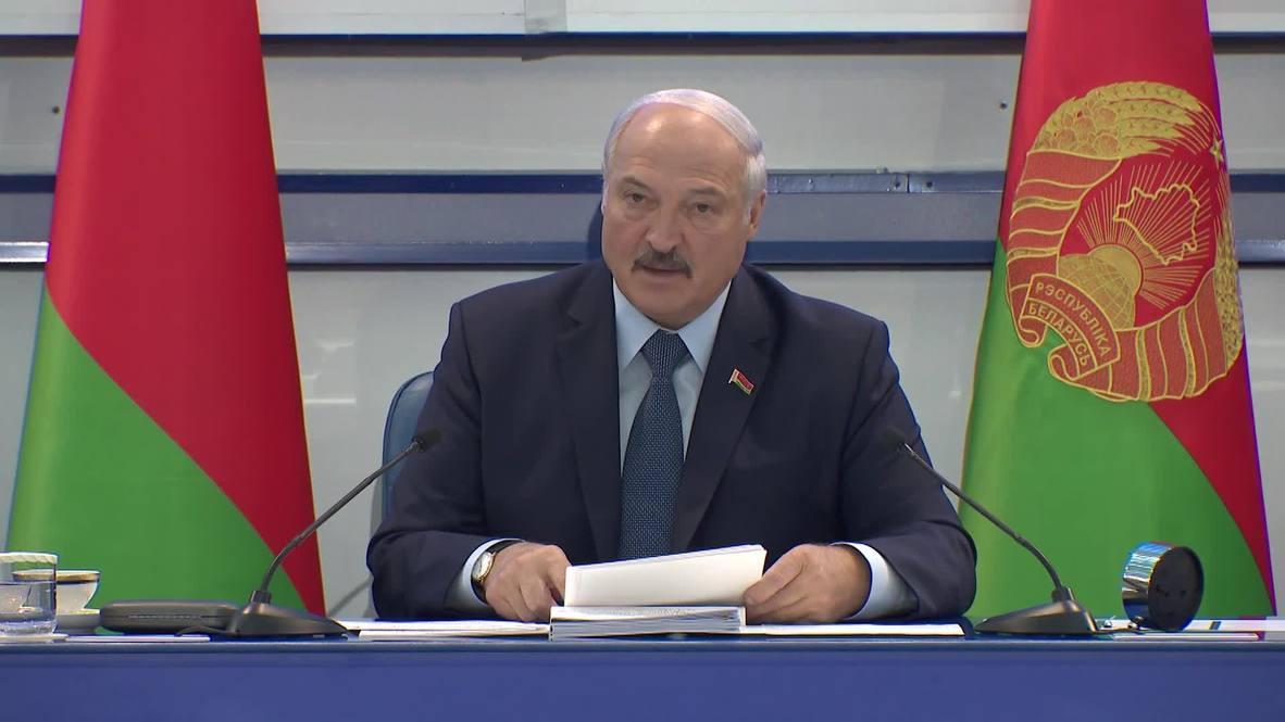 """Белоруссия:  """"Если вернетесь из Токио ни с чем, лучше не возвращайтесь"""". Лукашенко встретился с олимпийцами"""