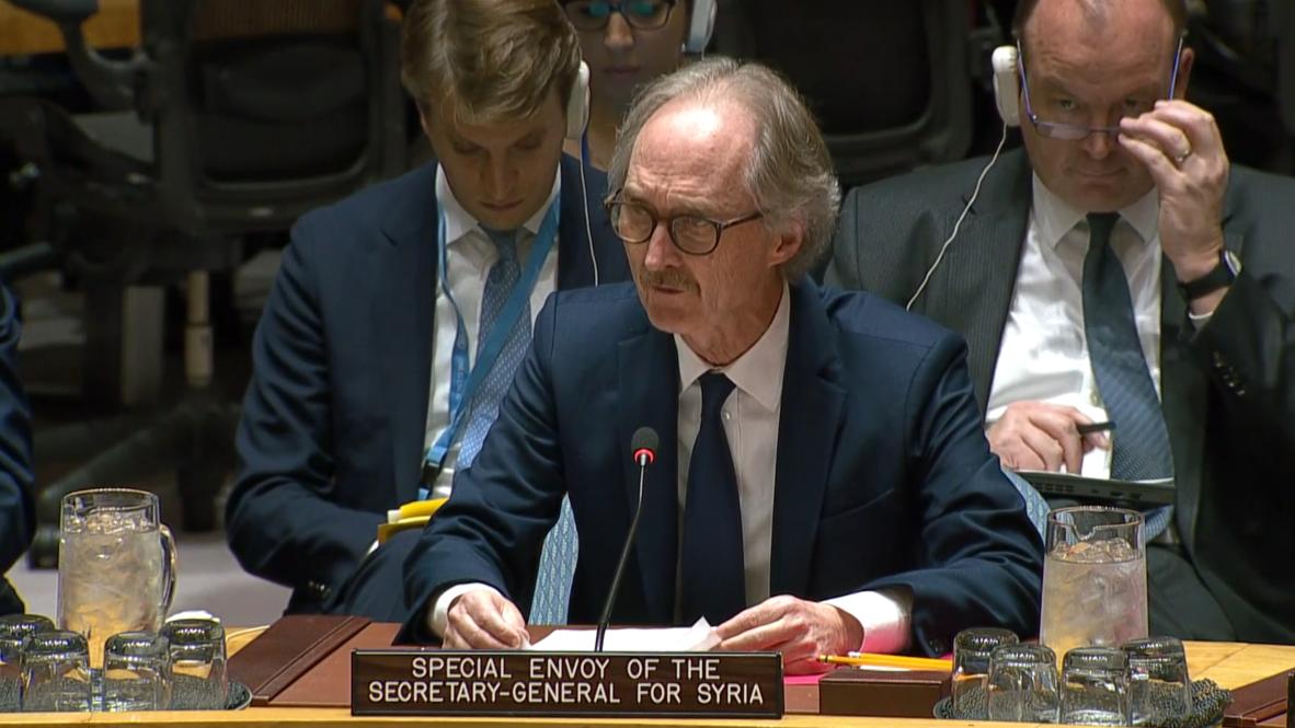 ONU: El Comité Constitucional sirio es un signo de esperanza - enviado especial Pedersen