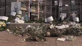 Hong Kong: Memorial of man killed during protests vandalised after family visit