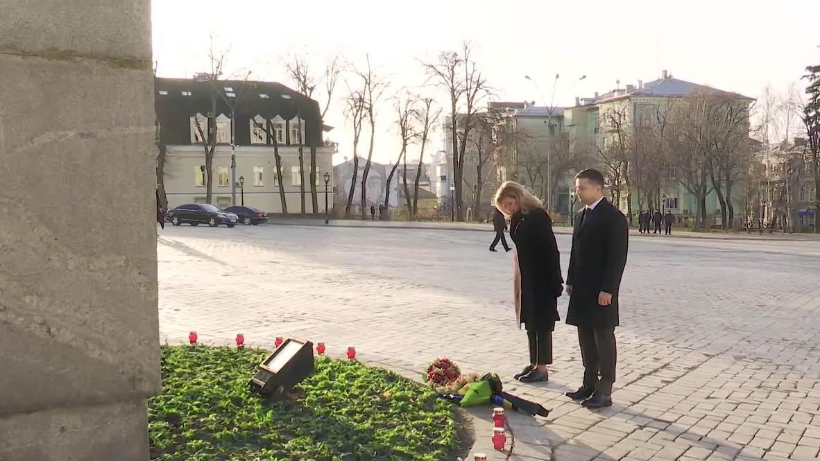 Ukraine: President Zelenskiy pays tribute to victims of Holodomor famine