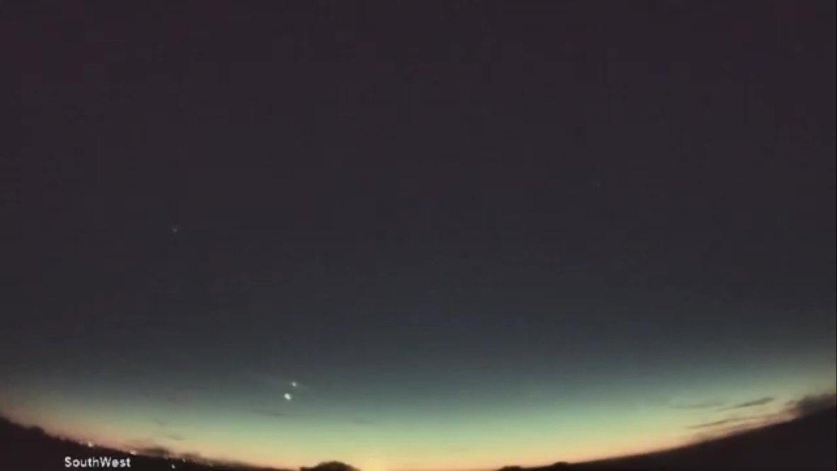 EE.UU.: Mira cómo Venus y Júpiter se cruzan en el cielo nocturno