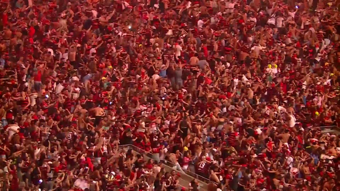 Brazil: Thousands gather at iconic Maracana stadium to watch Lima's Copa Libertadores final
