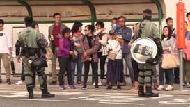 Hong Kong: Heavy police presence marks local elections