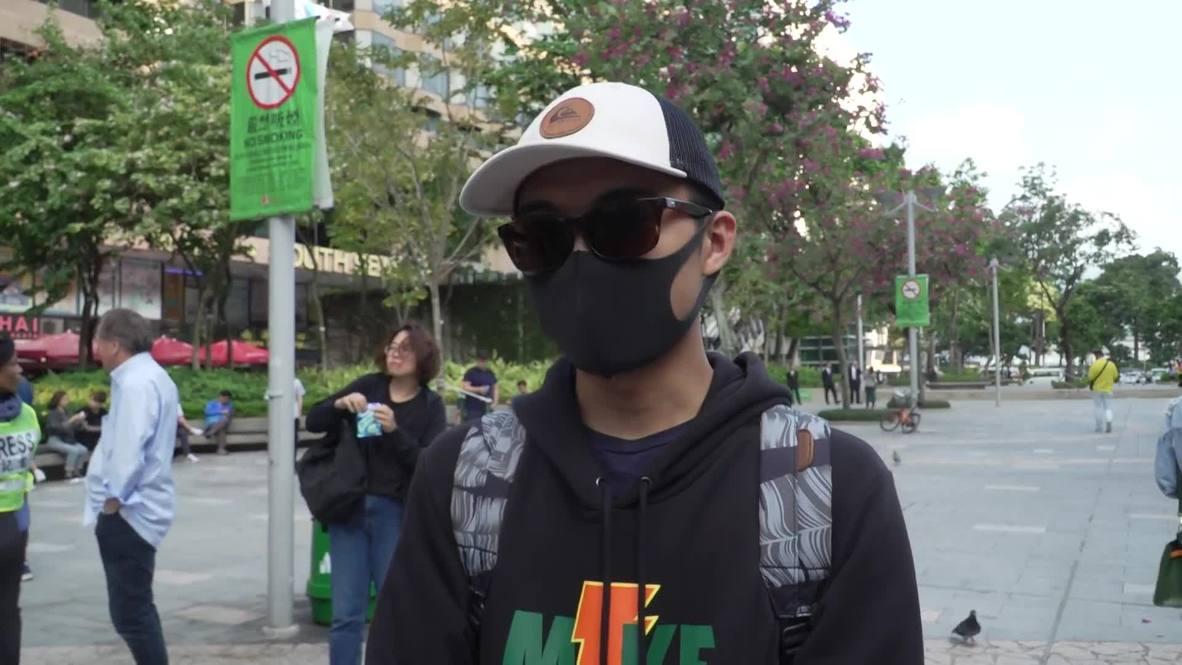 Hong Kong: Votantes reaccionan ante la aplastante victoria electoral de la oposición