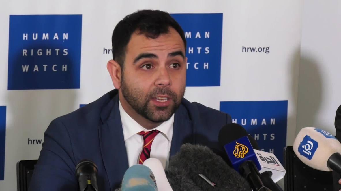 """القدس الشرقية: ترحيل مدير مكتب """"هيومن رايتس ووتش"""" بتهمة دعمه لحملة مقاطعة إسرائيل"""