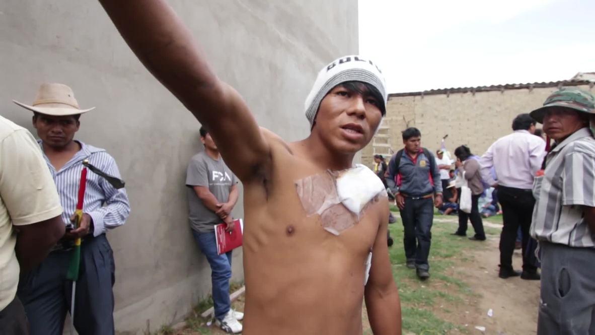 Bolivia: IACHR representatives meet injured protesters in Cochabamba