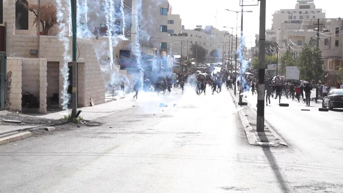 """Estado de Palestina: Al menos 15 heridos en las protestas del """"Día de la ira"""""""