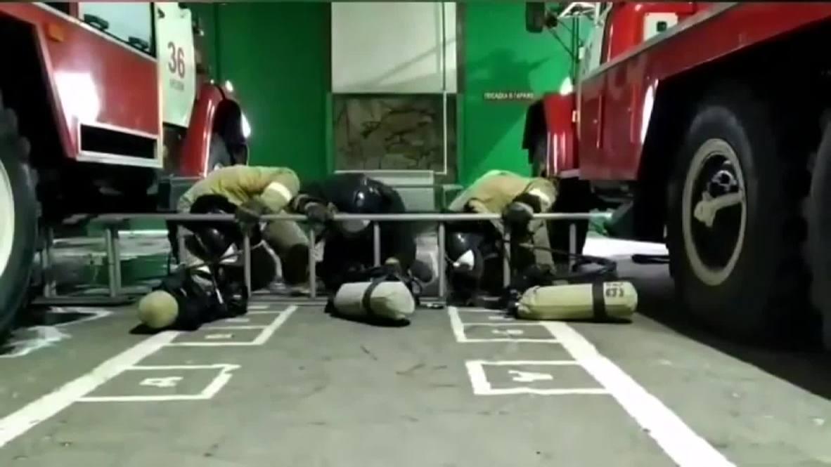 Вызов принят. Чеченские пожарные запустили челлендж, охвативший регионы России и другие страны