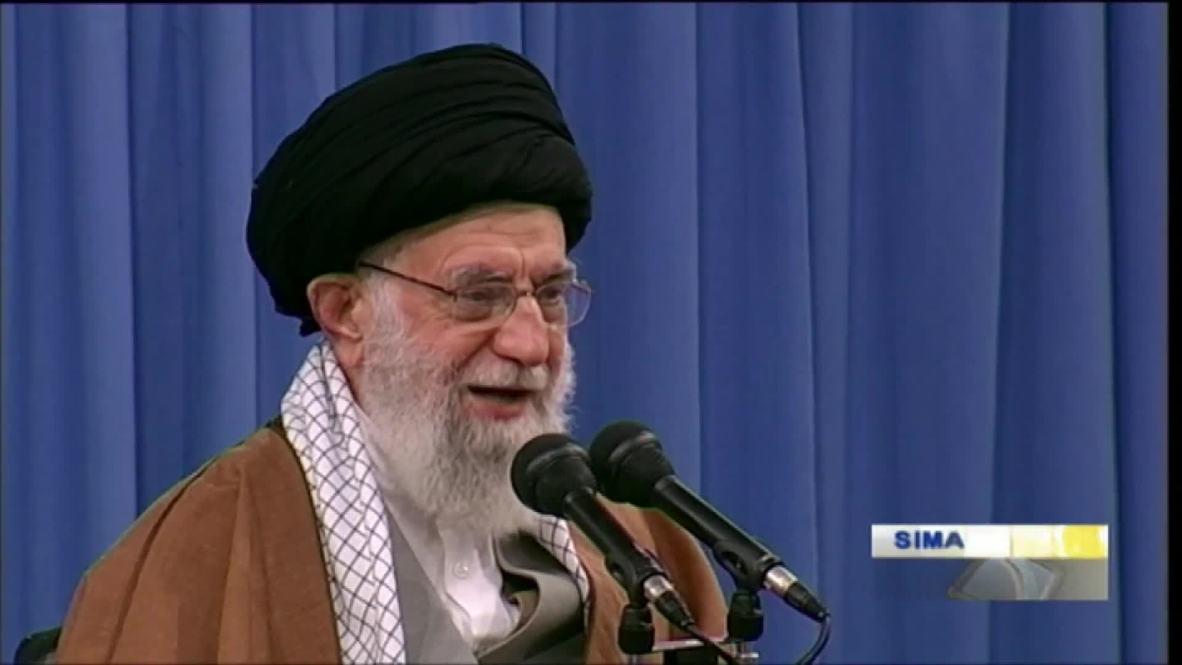 """إيران: خامنئي عن الاحتجاجات الأخيرة: أحبطنا مؤامرة """"كبيرة وخطيرة"""""""