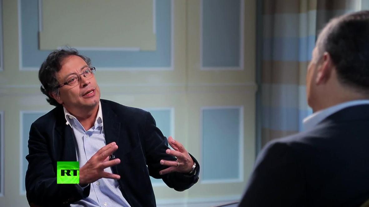 Senador colombiano Gustavo Petro es entrevistado en 'Conversando con Correa' *CONTENIDO DE SOCIOS*