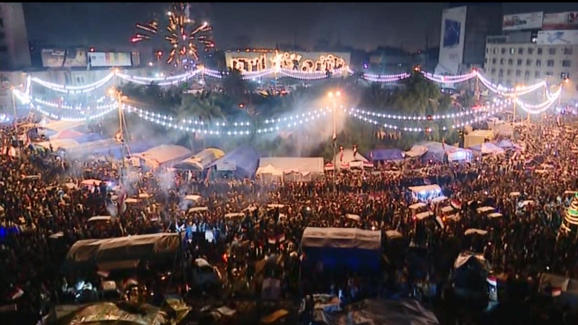 Iraq: Jubilant crowd celebrates PM's resignation on Baghdad's Tahrir Square
