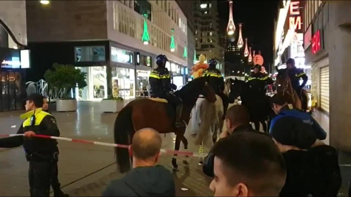 Países Bajos: Área comercial es cerrada por la policía tras incidente por apuñalamiento en La Haya